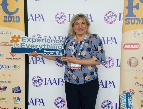 And the word from IAAPA 2018 is…