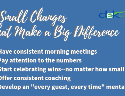 5 Small Changes That Make A Big Difference